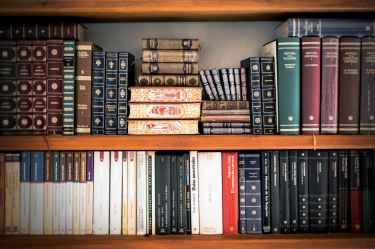 book shelves book stack bookcase books